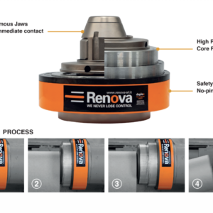 detailed graphic of renova duplex core ejector