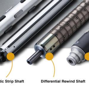 pneumatic strip shaft varieties