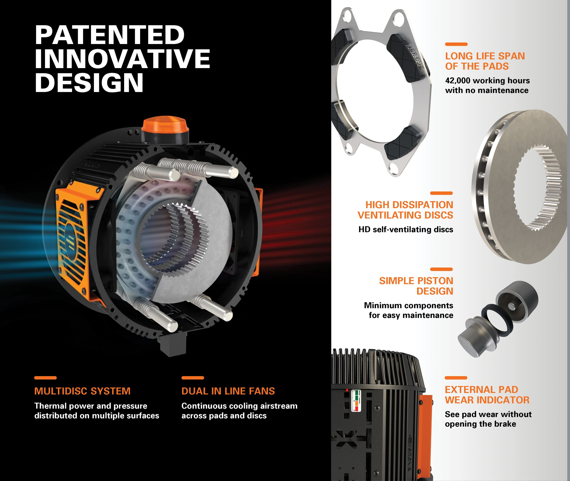 CST Turborex heat dissipation brake information