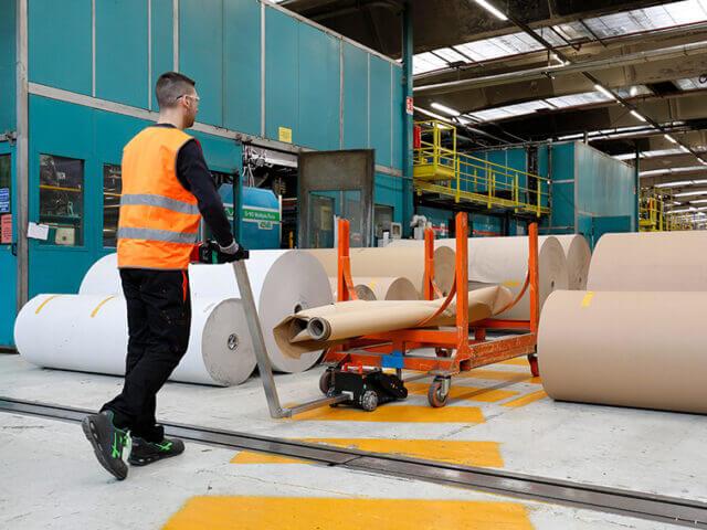 Renova Movicart moving paper roll cart