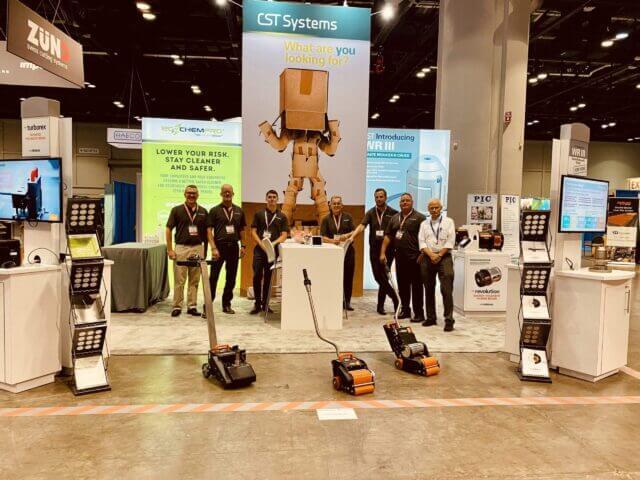 CST Systems SuperCorrExpo 2021 team photo