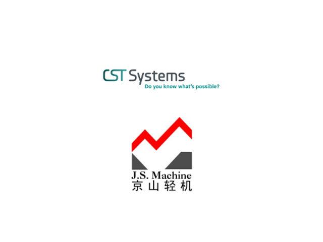 CST Systems JS Machine logos